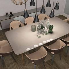 Pebbledesign / Çakıltașları Mimarlık Tasarım – Yaman Residential:  tarz Yemek Odası