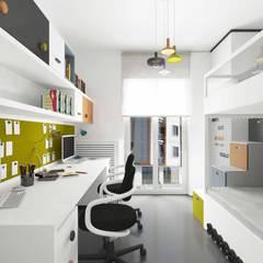 Pebbledesign / Çakıltașları Mimarlık Tasarım – Yaman Residential:  tarz Erkek çocuk yatak odası