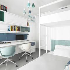 Pebbledesign / Çakıltașları Mimarlık Tasarım – Yaman Residential:  tarz Kız çocuk yatak odası