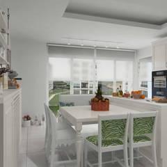Pebbledesign / Çakıltașları Mimarlık Tasarım – Yaman Residential:  tarz Ankastre mutfaklar
