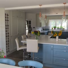 :  Built-in kitchens by Kitchens of Surrey
