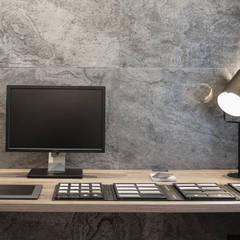 Mieszkanie minimalisty: styl , w kategorii Domowe biuro i gabinet zaprojektowany przez Lew Architekci & Archideck