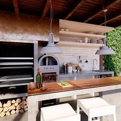 Diseño y Construcción de Quinchos en Santiago por Tu Obra Maestra: Terrazas  de estilo  por Tu Obra Maestra