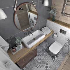 Ванная комната: Ванные комнаты в . Автор – BURo DA