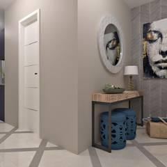 Квартира для молодой пары: Коридор и прихожая в . Автор – BURo DA