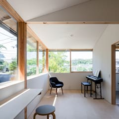 Scandinavian style windows & doors by KOMATSU ARCHITECTS Scandinavian Glass