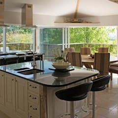 Glass Balustrades - Lindsey Russell: Дома с террасами в . Автор – Балконэт - Стеклянные Балюстрады