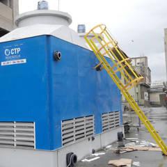 Su soğutma kulesi CTP Mühendislikが手掛けたインフィニティプール, 地中海 鉄/鋼