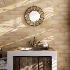Magma: Baños de estilo  de Equipe Ceramicas