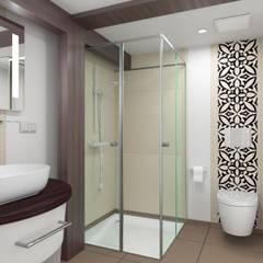 Gästebad:  Badezimmer von existo anima