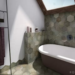 Heritage: Baños de estilo  de Equipe Ceramicas