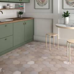 Heritage: Cocinas de estilo  de Equipe Ceramicas