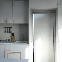Bungalow T0 – 36m² - Interior - 3: Bungalows  por goodmood - Soluções de Habitação