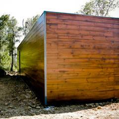 Bungalow Wood Alcobaça - Exterior - 4: Bungalows  por goodmood - Soluções de Habitação