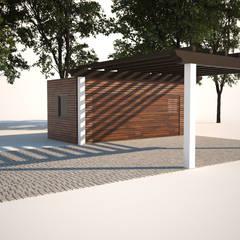 Habitação Unifamiliar com Anexo, Quinta do Perú - Anexo -  Exterior - 1: Garagens e arrecadações  por goodmood - Soluções de Habitação