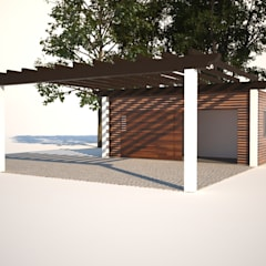 Habitação Unifamiliar com Anexo, Quinta do Perú - Anexo -  Exterior - 2: Garagens e arrecadações  por goodmood - Soluções de Habitação
