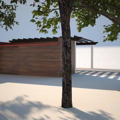 Habitação Unifamiliar com Anexo, Quinta do Perú - Anexo -  Exterior - 3: Garagens e arrecadações  por goodmood - Soluções de Habitação