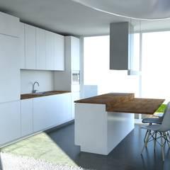 Habitação Unifamiliar, Cascais: Cozinhas  por goodmood - Soluções de Habitação