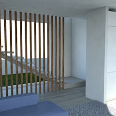 Habitação Unifamiliar, Cascais: Escadas  por goodmood - Soluções de Habitação,Moderno