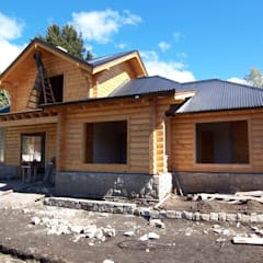 獨棟房 by Patagonia Log Homes - Arquitectos - Neuquén