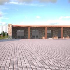 Habitação Unifamiliar, Castelo Branco - Exterior - 3: Garagens e arrecadações  por goodmood - Soluções de Habitação