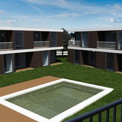 Porto Amboim Guest House, Angola - Exterior - 1: Condomínios  por goodmood - Soluções de Habitação