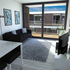 Porto Amboim Guest House, Angola - Interior - 2: Condomínios  por goodmood - Soluções de Habitação