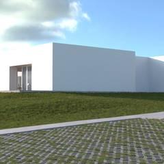 Projecto Turístico, Grândola - Exterior - 1: Condomínios  por goodmood - Soluções de Habitação