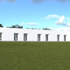 Projecto Turístico, Grândola - Exterior - 2: Condomínios  por goodmood - Soluções de Habitação