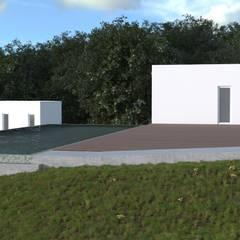 Projecto Turístico, Grândola - Exterior - 3: Condomínios  por goodmood - Soluções de Habitação