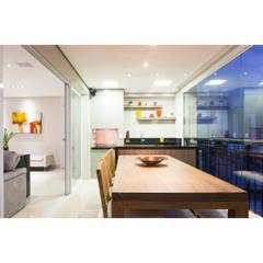 Varanda gourmet: Terraços  por C2HA Arquitetos