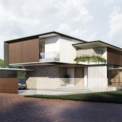 MINES RESORT HOUSE:  Houses by NDC DESIGN,