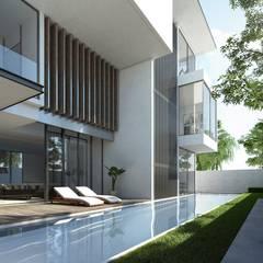 USJ HOUSE:  Houses by NDC DESIGN,