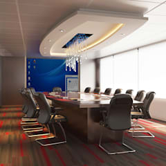 conference room:  Office buildings by Norm designhaus