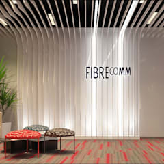 Fibrecomm Office:  Office buildings by Norm designhaus