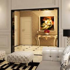 Luxury Bungalow:  Corridor & hallway by Norm designhaus, Classic