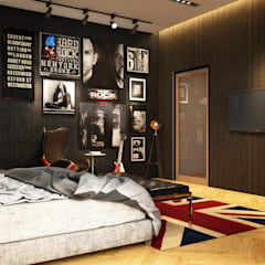 Luxury Bungalow:  Bedroom by Norm designhaus,