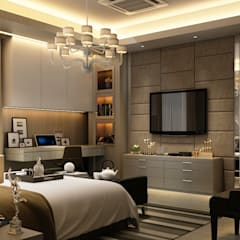 Luxury Bungalow:  Bedroom by Norm designhaus