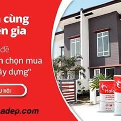 Lựa chọn vật liệu xây dựng:  Phòng khách by Cong-ty-tnhh-xd-tk-tm-gia-lac
