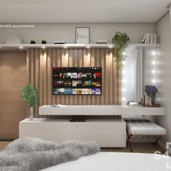 Bedroom by STUDIO 405 - ARQUITETURA & INTERIORES, Scandinavian
