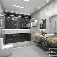 Bathroom by STUDIO 405 - ARQUITETURA & INTERIORES