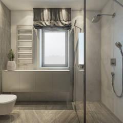 Nowoczesny dom: styl , w kategorii Łazienka zaprojektowany przez Lew Architekci & Archideck