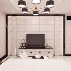 Masterbedroom TV Cabinet:  oleh JRY Atelier,