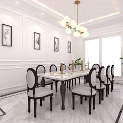 Dining Room:  oleh JRY Atelier,
