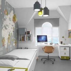 Boys Bedroom توسطPebbledesign / Çakıltașları Mimarlık Tasarım, مدرن
