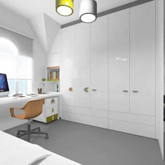 Pebbledesign / Çakıltașları Mimarlık Tasarım – Bosnalı Kids Room:  tarz Erkek çocuk yatak odası