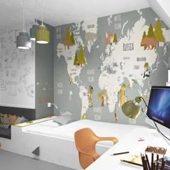 Boys Bedroom by Pebbledesign / Çakıltașları Mimarlık Tasarım, Modern