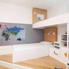 Pebbledesign / Çakıltașları Mimarlık Tasarım – Hayretçi Kids Room:  tarz Erkek çocuk yatak odası