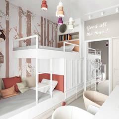 Pebbledesign / Çakıltașları Mimarlık Tasarım – Sumer Kids Room:  tarz Kız çocuk yatak odası