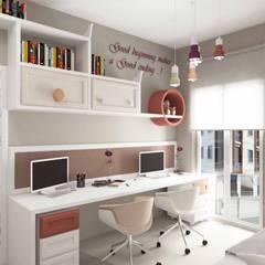 Pebbledesign / Çakıltașları Mimarlık Tasarımが手掛けた女の子部屋